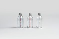"AURA Water Packaging by Yvonne Moser ""Water is our most important provider for natural life energy. Purified by deep rock layers it has a very high energetic oscillation. Different gemstones release this natural energy to »AURA« spring water...."