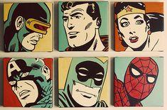 Vintage Comic Book Superhero Boy Nursery Reveal | Baby Lifestyles on we heart it / visual bookmark #32558009