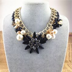 Find More Pendant Necklaces Information about Hot Trend fashion necklaces & pendants statement Alloy braided black resin flower necklace women jewelry wholesale 2014,High Quality jewelry snaps,China jewelry interview Suppliers, Cheap jewelry rosary necklace from Woman Wang fashion jewelry shops on Aliexpress.com