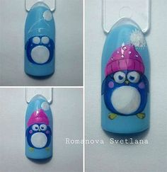 Winter Nail Art Tutorials