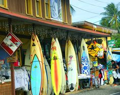 Surf n' Sea at Haleiwa, Oahu, Hawaii! I love that place