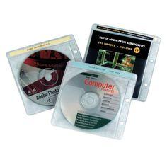 Pack 10 fundas CD (2 taladros) | Diacash