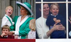 Prince Harry vs Prince George. Lol I knew this comparison shot was coming. <3