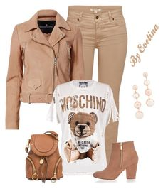 """""""EVE"""" by evelina-er on Polyvore featuring Barbour, Designers Remix, Moschino, See by Chloé, River Island and Rebecca Minkoff"""