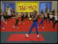 Aerobic 4 Billy Blanks' Tae Bo The 8 Minute Workout - YouTube