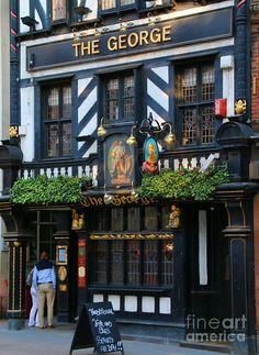 The George Pub 5376 Photograph by Jack Schultz