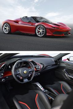 The J50 Is the Best-Looking Ferrari V8 in Decades