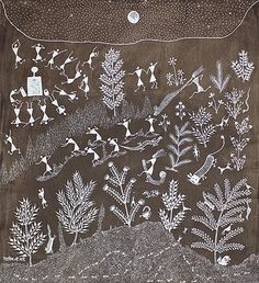 Rhythm and Ritual II - A collection of Warli paintings | SADASHIV MASHE