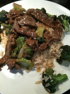 My sons favorite Beef-broccoli Stir-fry here is a low calorie recipe for chicken and broccoli http://journeydownthescale.info/healthy-low-calorie-chinese-chicken-and-broccoli-recipe/