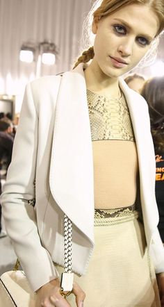 Backstage at Lanvin RTW Fall 2015
