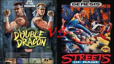 Gaming Classic Clash: Streets of Rage vs. Double Dragon via @bagogames