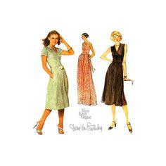 Diane Von Furstenberg Wrap Dress Sewing Pattern by VirtualVintage