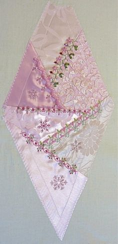 I ❤ crazy quilting, beading & ribbon embroidery . . . Gorgeous December 2012 CQJP Block ~By Susie W