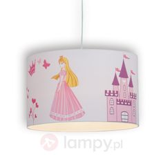 Princess - lampa wisząca do pokoju dziecięcego 1507229