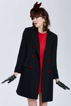 Vintage Moschino Palermo Wool Coat - What's New