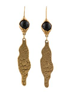 Yves Saint Laurent, Natural Stones, Jewelry Design, Drop Earrings, Ysl, Antiques, Inspiration, Google Search, Fashion