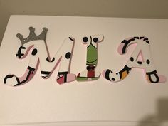 Hello kitty name letters