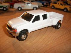 Custom 1 64 scale ford f-350 4 door dually