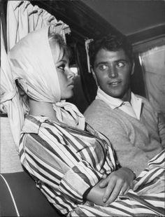 Brigitte Bardot & Sacha Distel, 1958