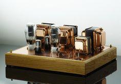 300B POWER AMP by VACUUM LAB, via Flickr