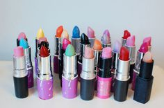 makeup collection, lipstick collection, lipstick, audrey kitching