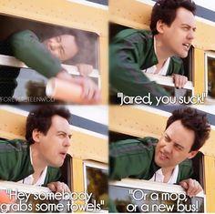 """Jared, you suck!"".....he's an amazing teacher"
