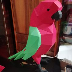 Дарья Кузьменко added a photo of their purchase Origami, 3d Paper Crafts, Diy Paper, Low Poly, Panther, Paper Bunny, Cardboard Sculpture, Paper Mask, Paper Animals