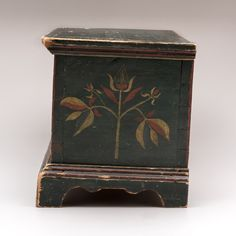 Miniature Painted Chest