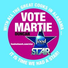 """""""Food Network Star"""" keeps Birmingham's Martie Duncan    Full story: Alabama Live    Birmingham entertainment expert Martie Duncan escaped elimination on tonight's """"Food Network Star '' by impressing judges with her puffed pastrami."""
