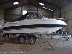 "Four Winns 195 Sundowner  for sale, 5.95m (19'6""), 1995, 1 x petrol 4 stroke 220hp, GRP construction, Planing underwater profile, 2 berth(s), Ref:152006"