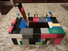 Just finished this box with my son for his Valentine's party at school. I have to admit that it's my best- er- his best work ever. I did h...