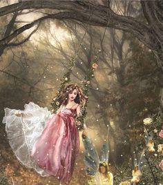 Fairies Of The Forest - fairies Photo