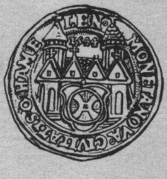 Hamelner Thaler von 1544 mit Ansicht des Münsters und des Mühleisens