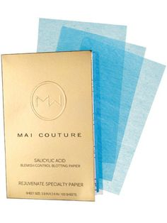 Mai Couture Salicylic Acid Blemish Control Blotting Papier Review: Skin Care: allure.com