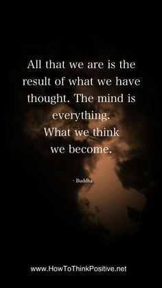 All that we are is the product of our thoughts...  #quotes #inspiration #lawofattraction #loa