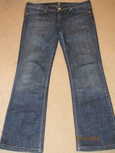 SEVEN For All Mankind FLYNT Dark Wash AUTHENTIC Jeans Stretch 30
