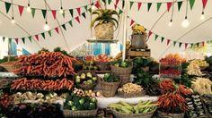 Market Day - Oranjezicht City Farm at V & A Produce Displays, V&a Waterfront, Organic Market, City Farm, Artisan Food, Organic Seeds, In Season Produce, Edible Plants, Healthy Vegetables