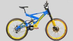 Cannondale s Fulcrum DH was positively radical when it was raced on the World Cup circuit 17 years ago