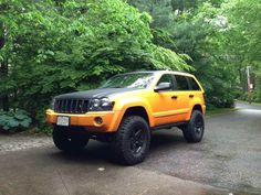 Jeep Grand Cherokee WK with a Superlift and 35 inch Duratracs