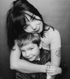 björk and her son, sindri