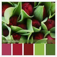 Colour Inspiration: Burgundy Tulip Hues - Floating Lemons Color