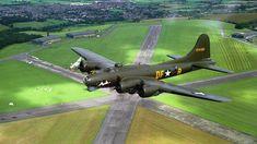 "UK based Boeing B-17G Flying Fortress ""Sally B""."