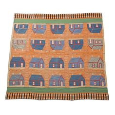 ca 1900 or earlier..fantastic quilt   From a unique collection of antique and modern quilts at http://www.1stdibs.com/furniture/folk-art/quilts/