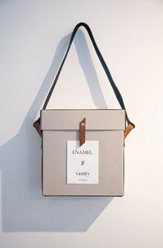 @Joshua Jenkins Jenkins Jenkins Opatz. Packaging Idea -- leather straps