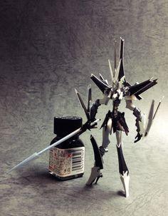 「なんて美しいロボット」カイゼリンです。半年以上前にバストアップまで作って放置し...