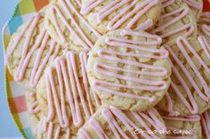 """Or so she says...: """"Soft, Chewy, & Pretty Much the Best Dang Sugar Cookies in the World!"""" I have made these so many times for every occasion imaginable, and I completely agree :)"""