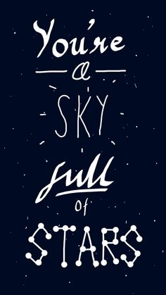 Delightful Sky Full Of Stars By Coldplay