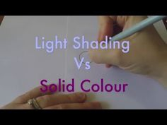 How to Use a White Colored Pencil to Blend and Shade - Create more realistic shading - YouTube