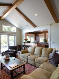 Family Room Craftsman Style Design, Pictures, Remodel, Decor and Ideas - page 5