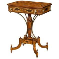 Theodore Alexander Rep.Li.Ca Delightful Regency Occasions Accent Table